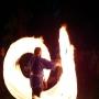 парк Куопио: реконструкция рыцарских боёв, огненное шоу фото: Боченков Вадим