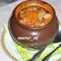 рагу в горшочке с тефтельками и овощами
