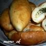 пирожки с зеленым луком и яичком