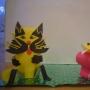 Котик, птичка из бумаги: Какунин Дима- 7кл, Семенов Максим-7кл