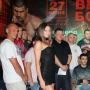 Взвешивание боксёров