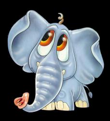Любопытный слоненок (0+)