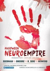 NEUROEMPIRE : HALLOWEEN, вечеринка (18+)