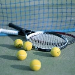 Теннис в спортивном комплексе