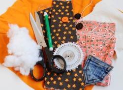 Текстильный заяц, мастер-класс (6+)