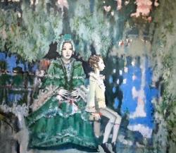 «...Люблю от бабушки московской я толки слушать о родне...», выставка (6+)