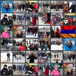 Армянский национальный праздник влюбленных Дрндез (Трндез) (0+)