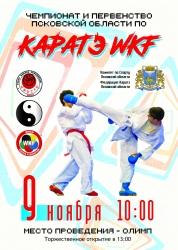 Региональный чемпионат и первенство по каратэ (6+)