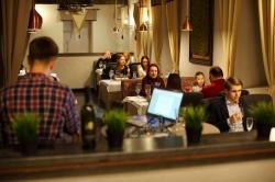 Гастрономический испанский ужин в ресторане