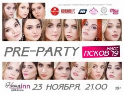 Pre-party конкурса красоты «Мисс Псков 2019» (18+)