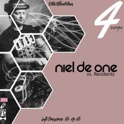 Niel de one VS Residents, вечеринка (18+)