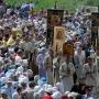 Крестный ход от православных храмов г.Пскова на Вечевую площадь