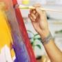 Раскраска акриловыми красками «цветочное панно» (6+)