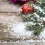 Новогодний гость и снежное украшение (6+)