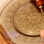 Точечная роспись тарелки, мастер-класс (10+)