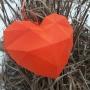 3D сердце-валентинка, мастер-класс (12+)