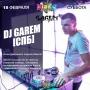 DJ Garem, вечеринка (18+)