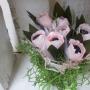 Сладкие тюльпаны в горшочке, мастер-класс (6+)