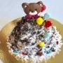 Торт «Мишка с шариками», кулинарный мастер-класс (6+)
