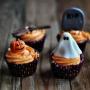 Кексы шоколадные на Хэллоуин, кулинарный мастер-класс (6+)