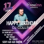 Happy Birthday DJ COLLINS (18+)