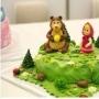 Торт шоколадный «Маша и медведь», кулинарный мастер-класс (6+)