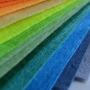 Цветочки - заколочки из фетра, мастер-класс (6+)