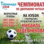 Чемпионат по дворовому футболу «Весна — 2019». Финал (6+)