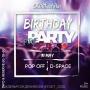 Birthday Preparty, вечеринка (18+)