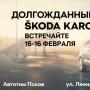 Презентация автомобиля Skoda Karoq (12+)