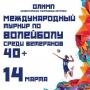 Международный турнир по волейболу среди ветеранов (6+)