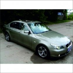 Аренда автомобиля BMW 525 (E60)