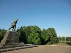 Могила Героя Советского Союза Александра Матросова