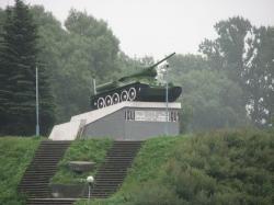 Памятник-танк Т-34