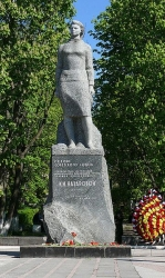 Памятник Клавдии Назаровой