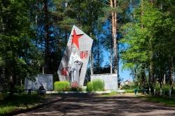 Монумент в память о Великой Отечественной войне