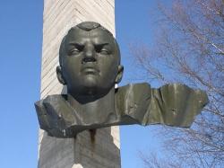 Мемориал на месте подвига Александра Матросова