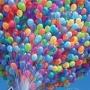 Воздушные шары, цветы