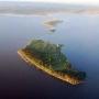 Летние домики на о. Белов (Талабские острова)