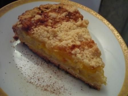 Песочный апельсиновый пирог рецепт с фото